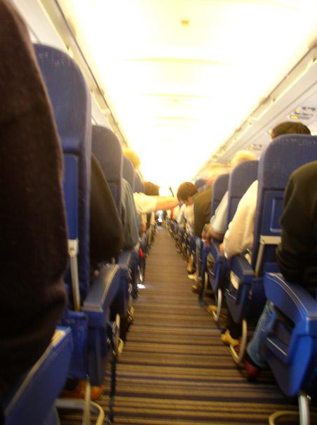 Как негр застрял задницу в самолете